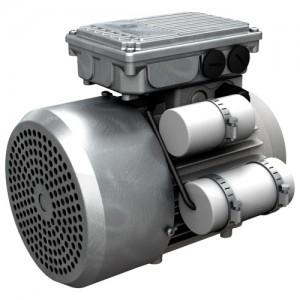 Однофазные электродвигатели с высоким пусковым моментом и однофазные электродвигатель с высоким пусковым моментом с тормозом Motovario серии HSE
