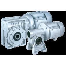 Червячные двухступенчатые мотор-редукторы Bonfiglioli серии W