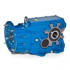 Коническо-цилиндрические двухступенчатые мотор-редукторы SITI серии MBH