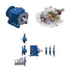 Соосно-цилиндрические двухступенчатые мотор-редукторы SITI серии MNHL