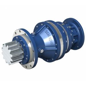 Планетарные двухступенчатые мотор-редукторы STM серии EX/V