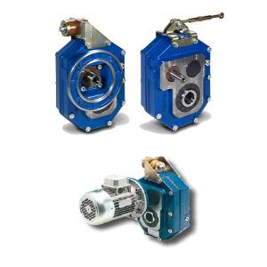 Цилиндрические насадные одноступенчатые мотор-редукторы Tramec серии PA