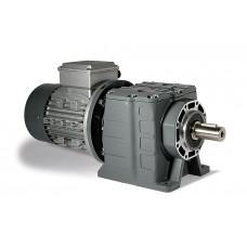 Соосные цилиндрические трехступенчатые мотор-редукторы Varvel серии MRD