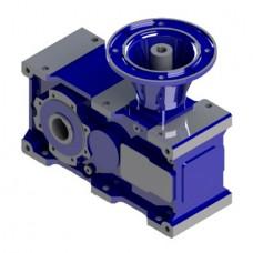 Коническо-цилиндрические универсальные одноступенчатые редукторы STM серии RXV 700